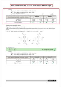 CYPECAD. Criterios de diseño por capacidad a flexión en soportes de hormigón según EHE08