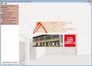 Generador de precios específico para el Colegio de Aparejadores, Arquitectos Técnicos e Ingenieros de la Edificación de Mallorca (COAATIE Mallorca)