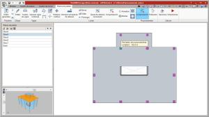 StruBIM Analysis 3D. Vista del modelo BIM