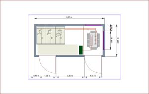 CYPELEC CT. Acotación independiente para elementos soterrados y sobre superficie