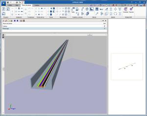 CYPELEC REBT. Visualización 3D del trazado de los cables que discurren por las canalizaciones