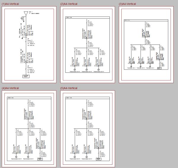 CYPELEC REBT. Configuración del nivel de detalle del plano del esquema unifilar