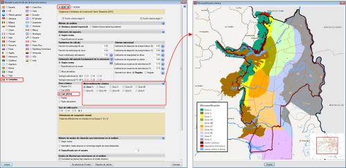 Microzonificación de Cali (Decreto 411.0.20.0158 de 2014). Acciones en las estructuras. Sismo