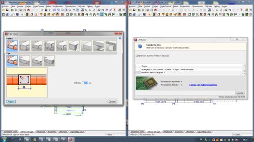 CYPECAD y CYPE 3D. Trabajo simultáneo en varias obras