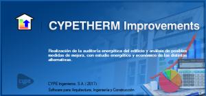 Novos programas. CYPETHERM Improvements. Pulse para ampliar la imagen' t