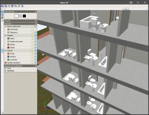 IFC Builder. Aparatos sanitarios en el modelo arquitectónico