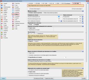 Implementación de normativa. Acciones en las estructuras. Sismo. CRP 2003 (Puebla, México)