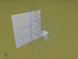 CYPEFIRE Sprinklers. Geometria 3D. Colunas montantes. Pulse para ampliar la imagen' t