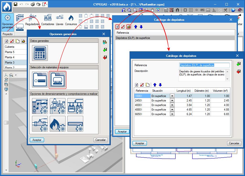Nouveaux modules et logiciels. CYPEGAS.