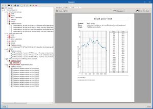 AcoubatBIM by CYPE. Cálculo del nivel de presión sonora generado por los equipos del edificio