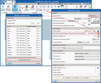 CYPELEC HE5. Importación de ficheros generados por PVGIS