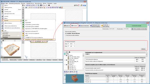CYPECAD MEP. Simulación de periodos de tiempo con EnergyPlus™ desde CYPECAD MEP
