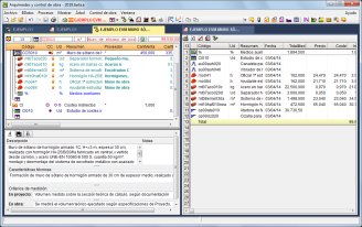 Arquímedes y Control de obra. Sistemas de visualización de ventanas