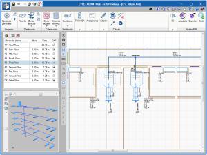 CYPETHERM HVAC. Cálculo de sistemas sobre el modelo BIM