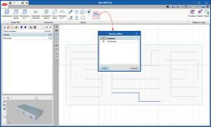 Open BIM Unex. Visualización de elementos introducidos en otros planos