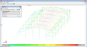 CYPE 3D. Límite máximo para la visualización de valores en la deformada