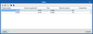 Open BIM Unex. Comprobación de capacidad en tramos de canalización