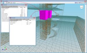 CYPECAD. Vista 3D do modelo analítico. Nova vista