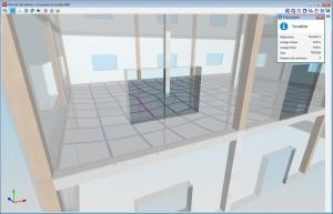 CYPECAD. Vista 3D da estrutura. Novos elementos estruturais nas vistas 3D (vigotas, abobadilhas, painéis de chapa de lajes mistas e cabos de pós-tensão)