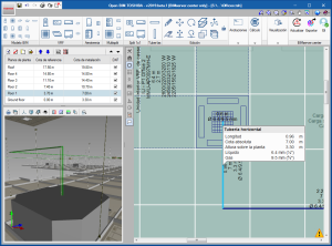 Open BIM TOSHIBA. Visualização do número de tubagens à escala real nas vistas 2D e 3D