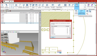 Open BIM Health and Safety. Assign element views on floor plans