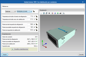 Open BIM DAIKIN. Automatic design of indoor VRV units