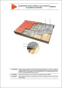 Detalles Constructivos. Sistemas de aislamiento térmico reflexivo. NRF010