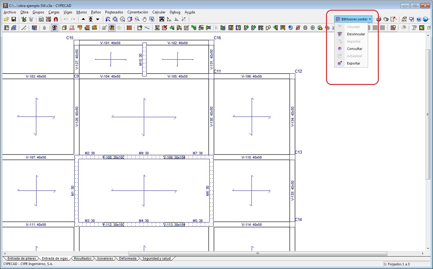 CYPECAD. Open BIM workflow