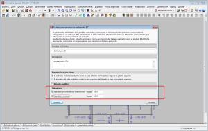 CYPECAD. Exportación de vistas 3D de la deformada, con animación al proyecto Open BIM