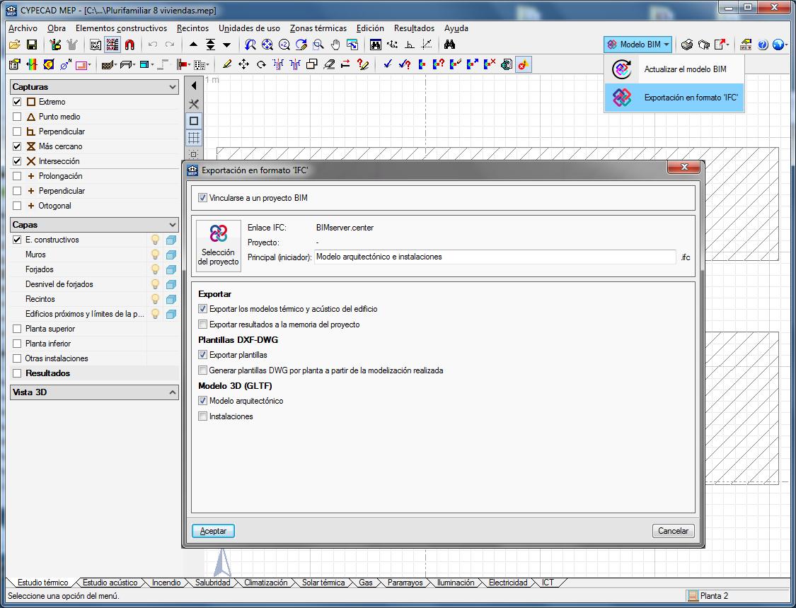 CYPECAD MEP. Open BIM workflow
