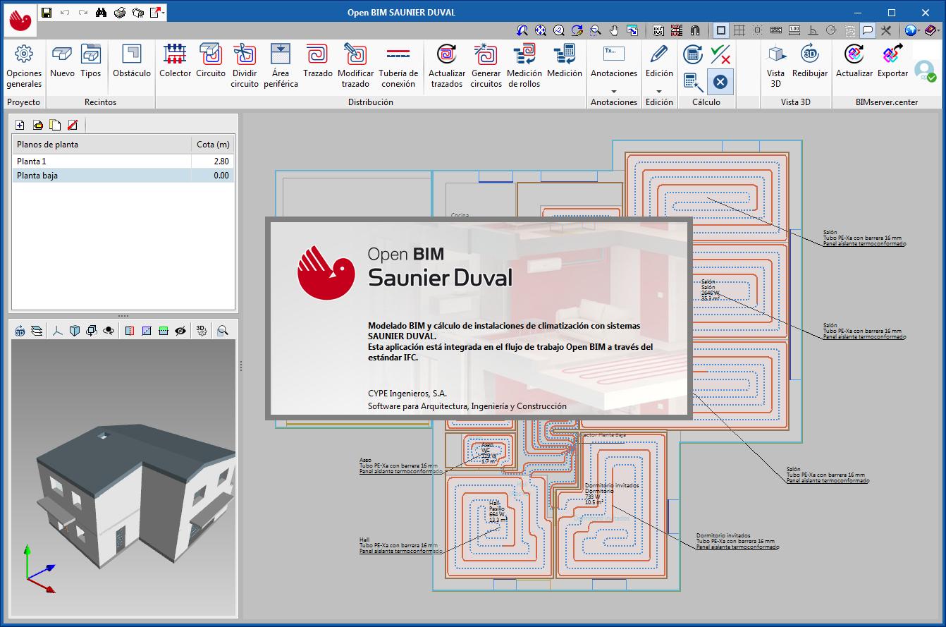 Manufacturer systems. Open BIM SAUNIER DUVAL