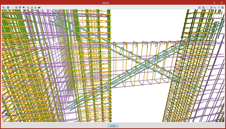Structural analysis. StruBIM REBAR