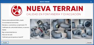 CYPEPLUMBING Sanitary Systems y CYPEPLUMBING Water Systems. Sistemas de instalación de NUEVA TERRAIN