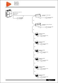Open BIM FUJITSU. Esquema de control y de cableado