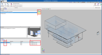 Open BIM Model Checker. Control de incidencias