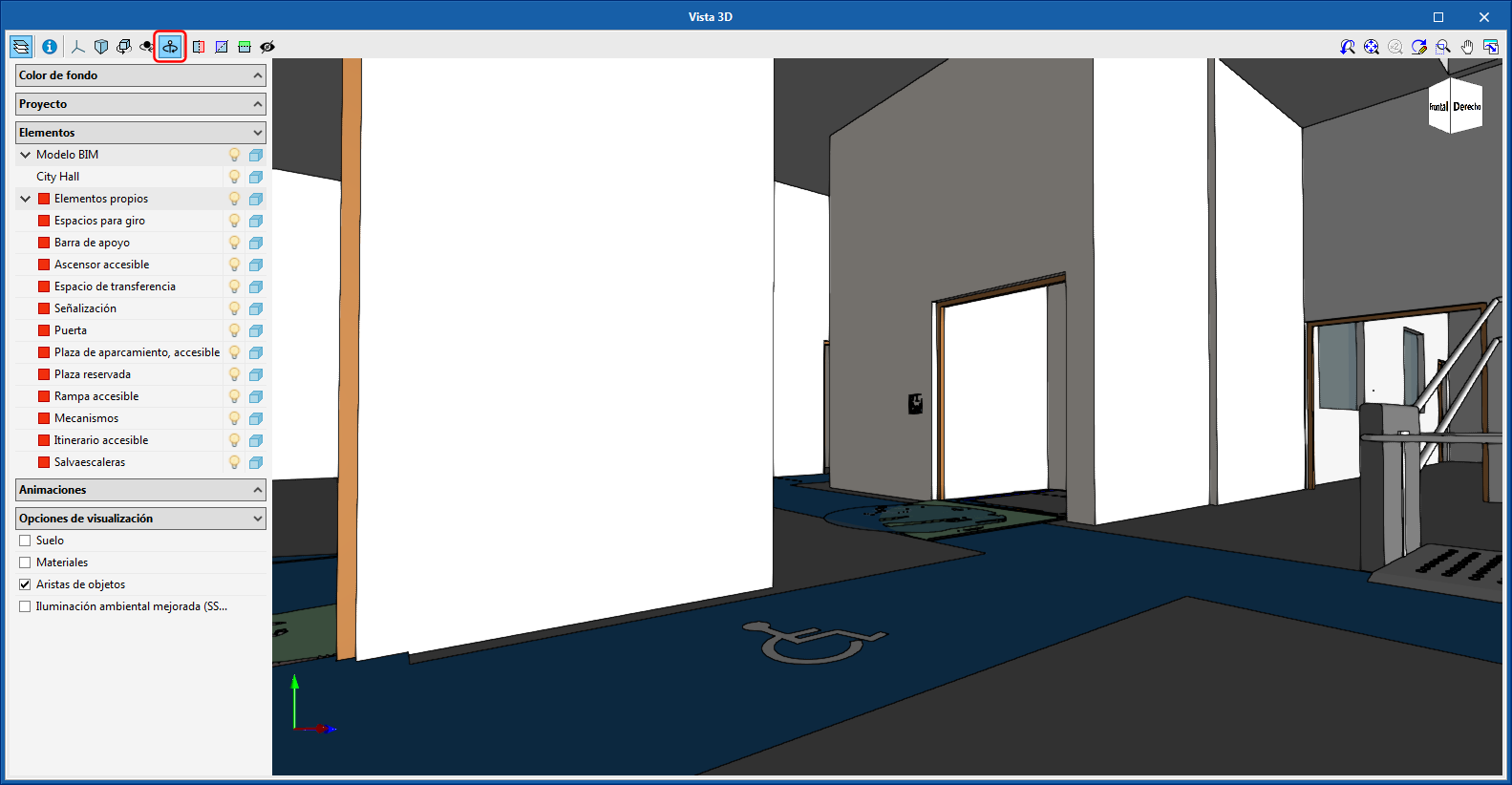 Improvements common to all programs. Rotate about the camera in 3D views