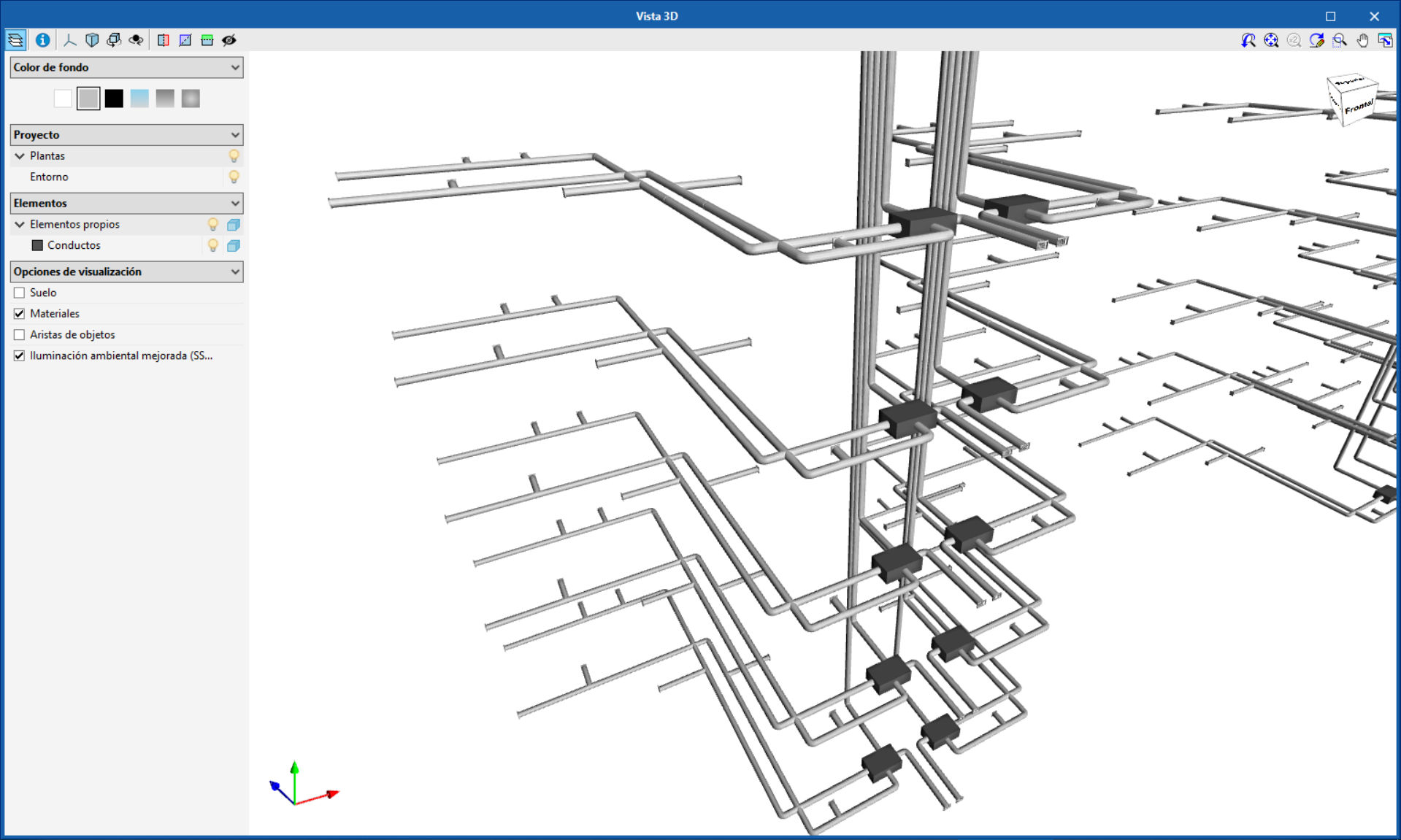 """NEW FEATURES OF """"Open BIM Systems"""". EasyVMC"""