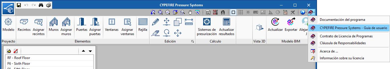 CYPEFIRE Pressure Systems. Program user guide