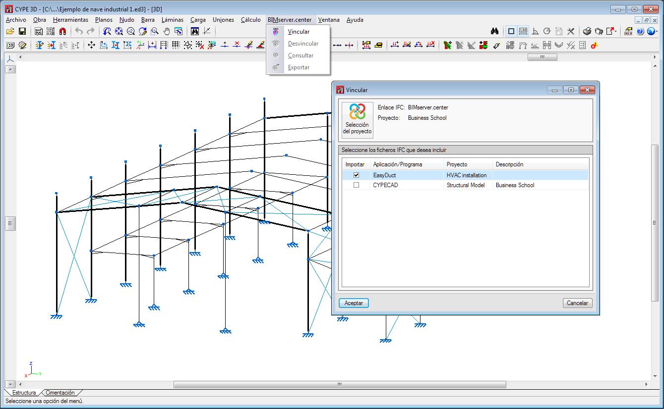 CYPE 3D e StruBIM CYPE 3D. Integrazione nel flusso di lavoro Open BIM