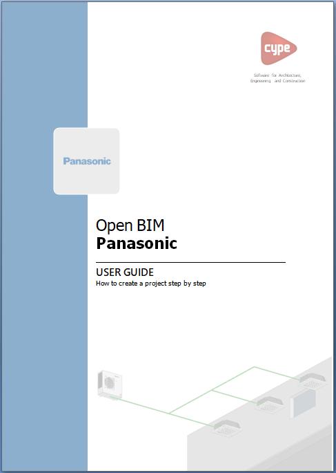 Open BIM PANASONIC. Manual da aplicação