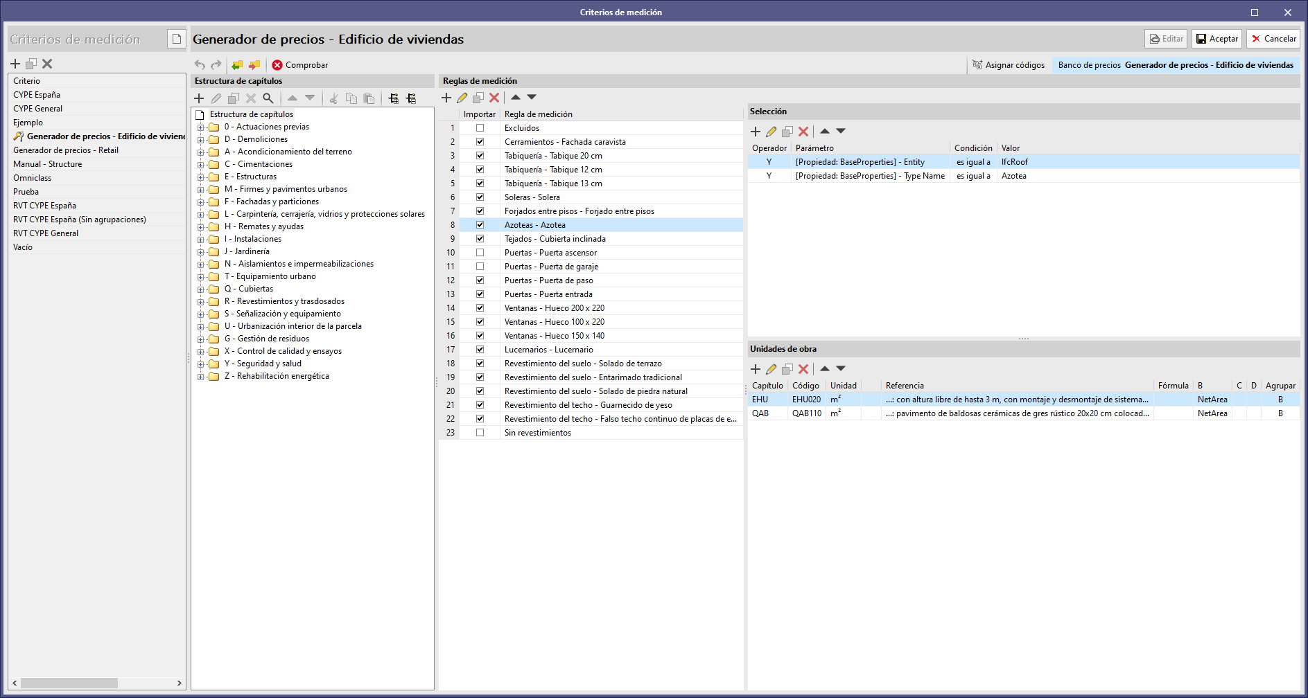 Open BIM Quantities ed applicazioni con la scheda Computo