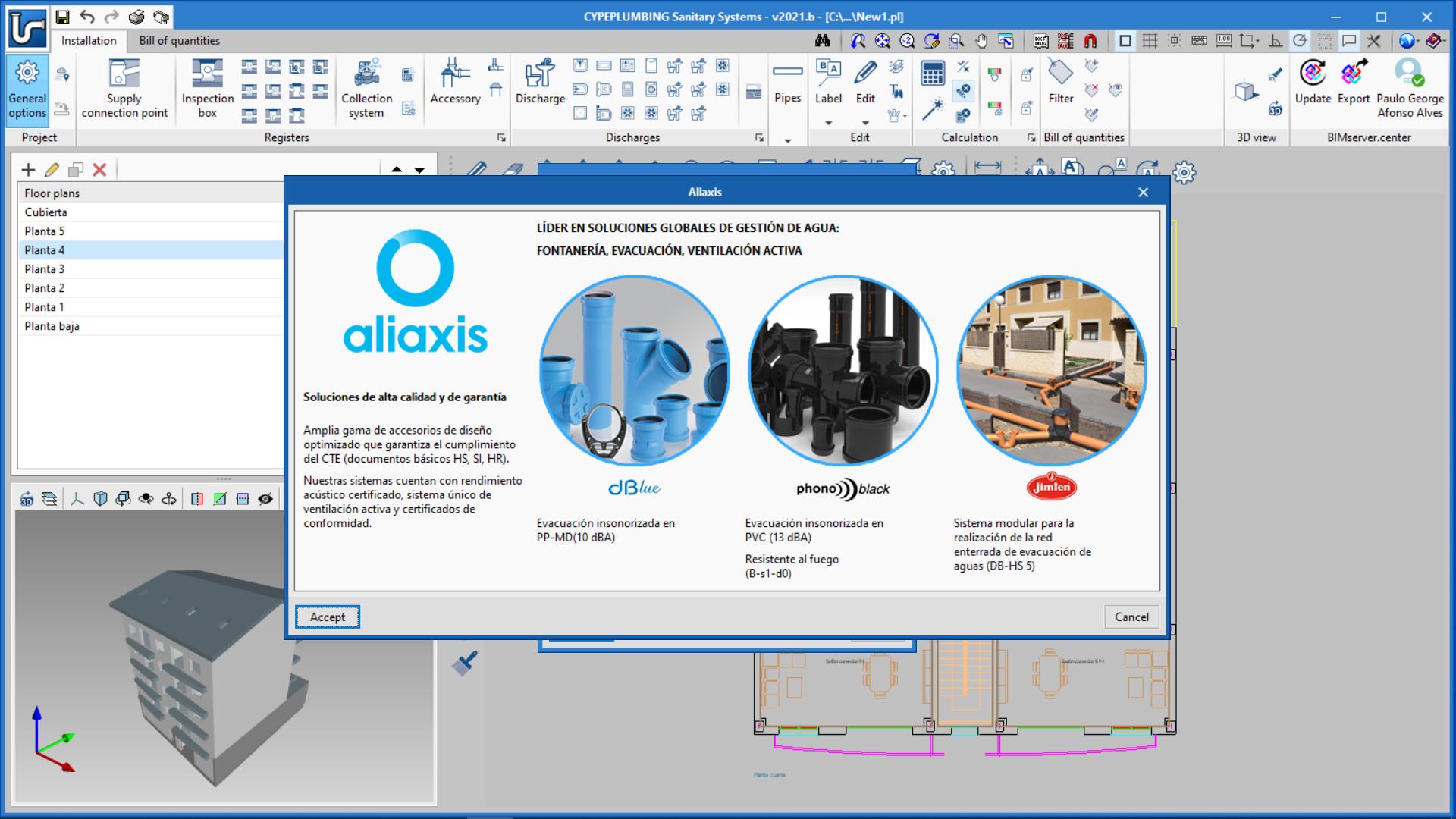 CYPEPLUMBING Sanitary Systems. Novo catálogo de tubos insonorizados Phonoblack por aliaxis