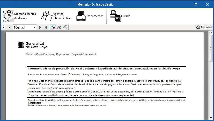 CYPELEC REBT. Actualización del Certificado de instalación eléctrica de baja tensión de Cataluña
